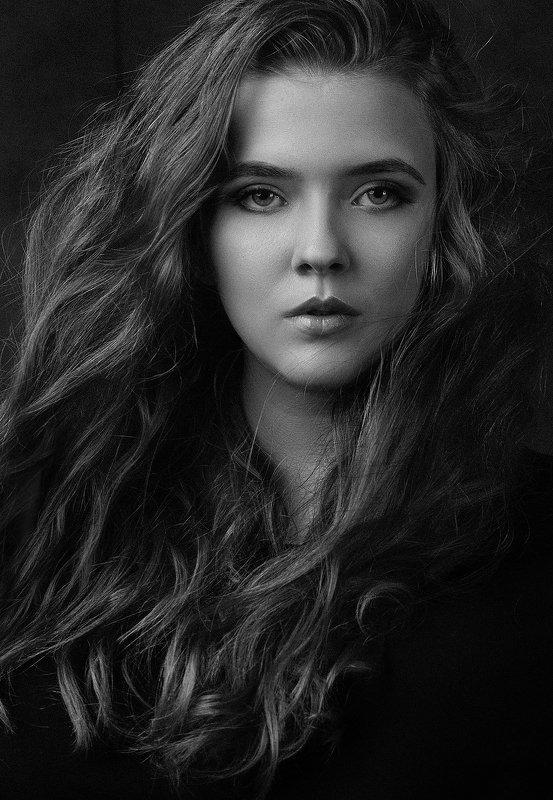 портрет, девушка, студия, portrait, studio *photo preview