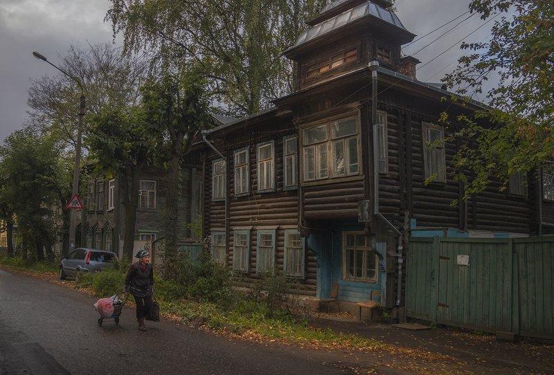кострома,старый дом,город Кострома.Сентябрьphoto preview
