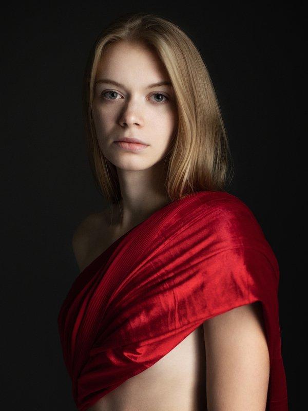 portrait, портрет, red Redphoto preview