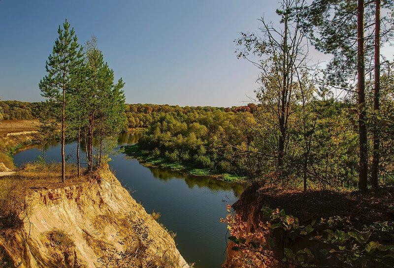 пейзаж, красота, природа, река ,осень Осень на Деснеphoto preview