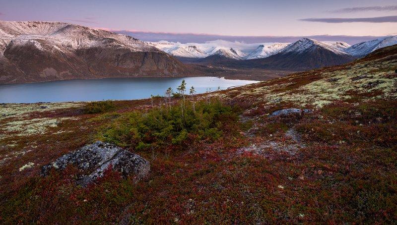 пейзаж,хибины,рассвет,горы,кольский,озеро photo preview