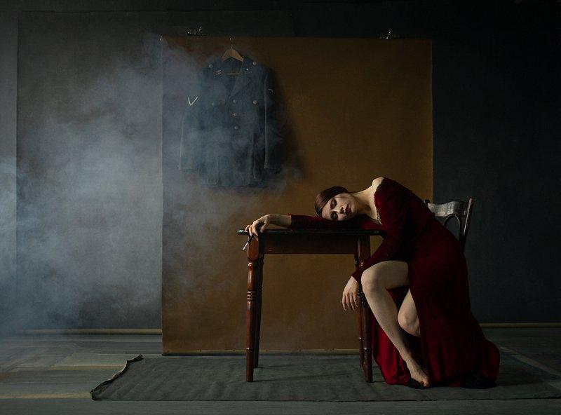 fine art porträt Коллапсphoto preview