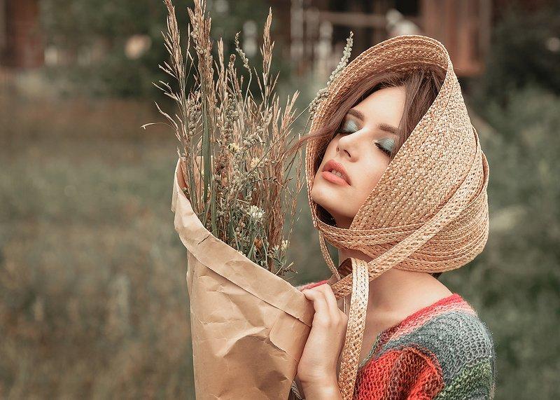 сельская романтика, фэшн ферма, модный образ, фэшн в деревне ***photo preview