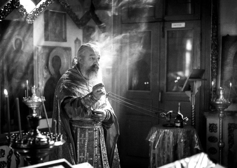 кержаки россия черно белое Духовный отец. Серия \