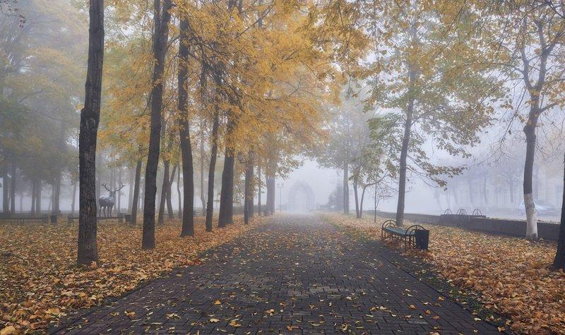 Осенью в парке...photo preview