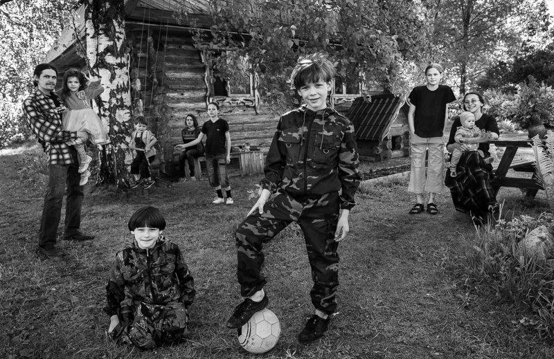 кержаки россия черно белое Следующие поколения. Серия \