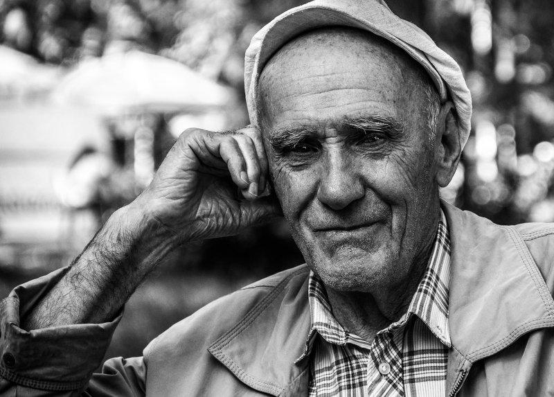 портрет, мужчина Шахматистphoto preview