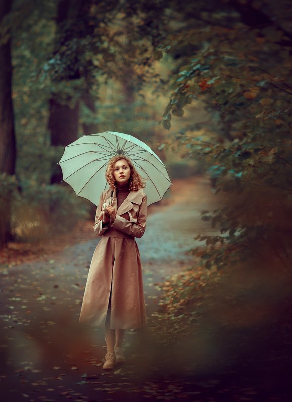 девушка, осенняя фотосессия, фотограф, фотограф москва, фотосессия на природе Краски осениphoto preview