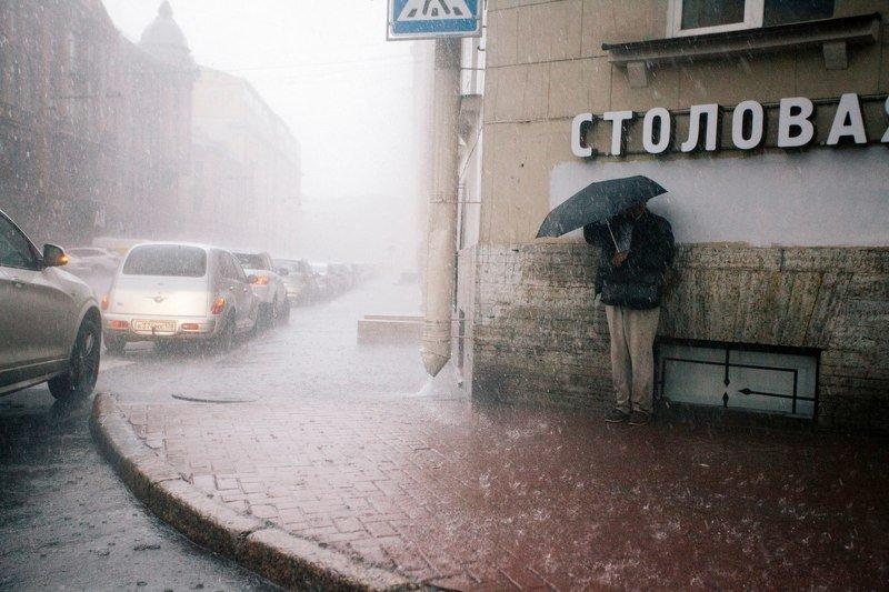 дождь, rain, петербург, зонт Дождьphoto preview