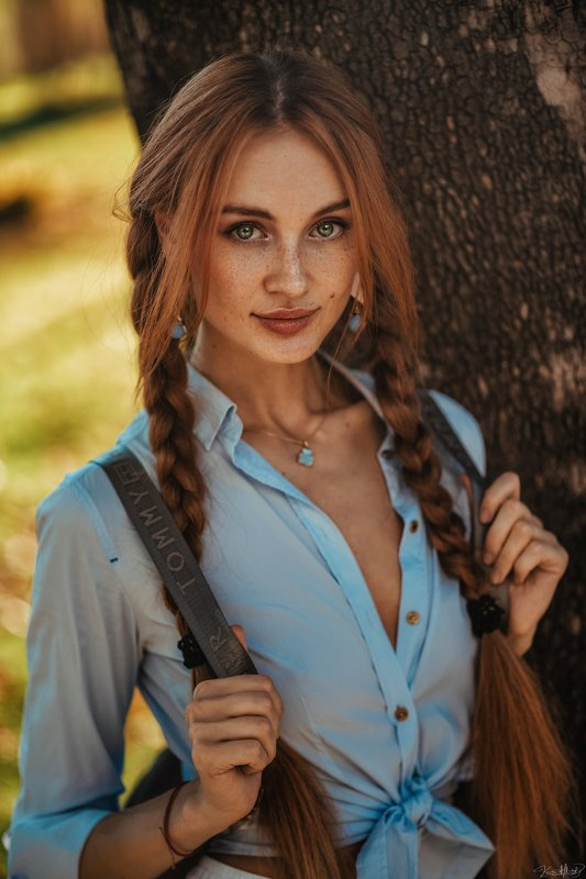 pretty, girl, beautiful, eyes, young, redhair, beauty, face, colorful, daylight, 85mm, istanbul, natural, light, fashion, portrait, art, nikon Alionaphoto preview