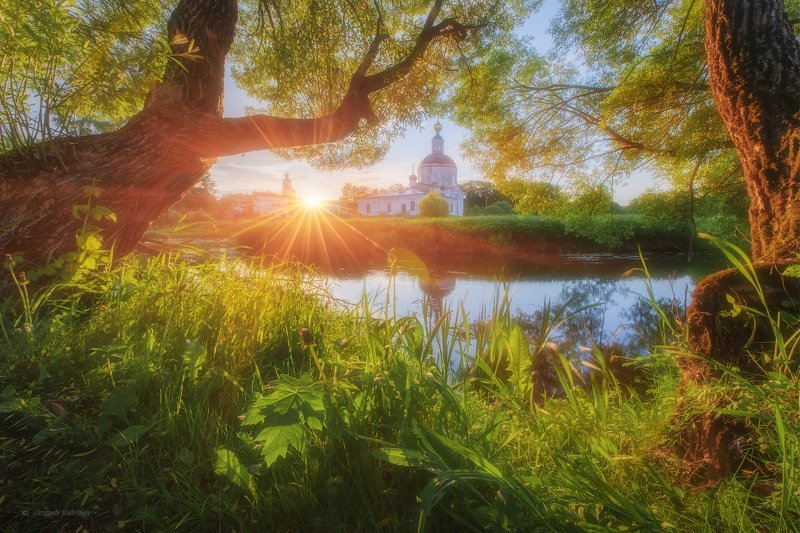 вязьма,пейзаж,весна Майское утро у реки Вязьмы...photo preview