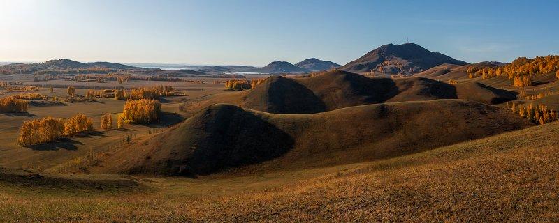 осень, горы, рассвет Волнениеphoto preview