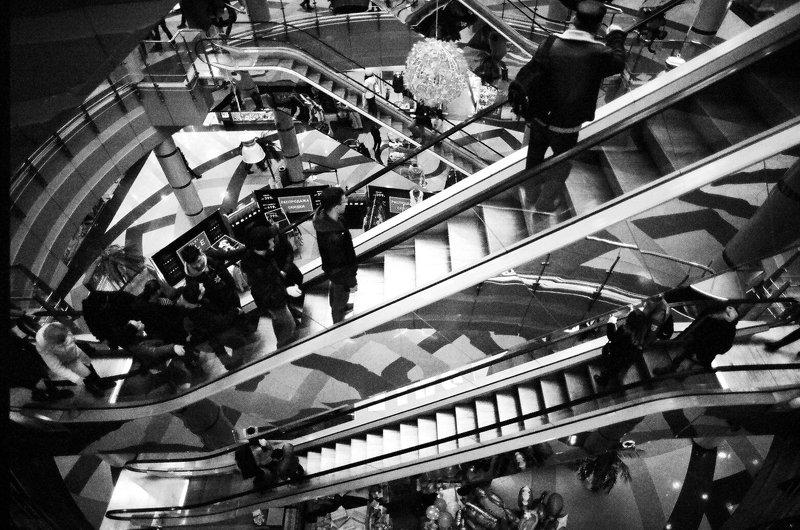 чб, люди, монохром rollercoasterphoto preview