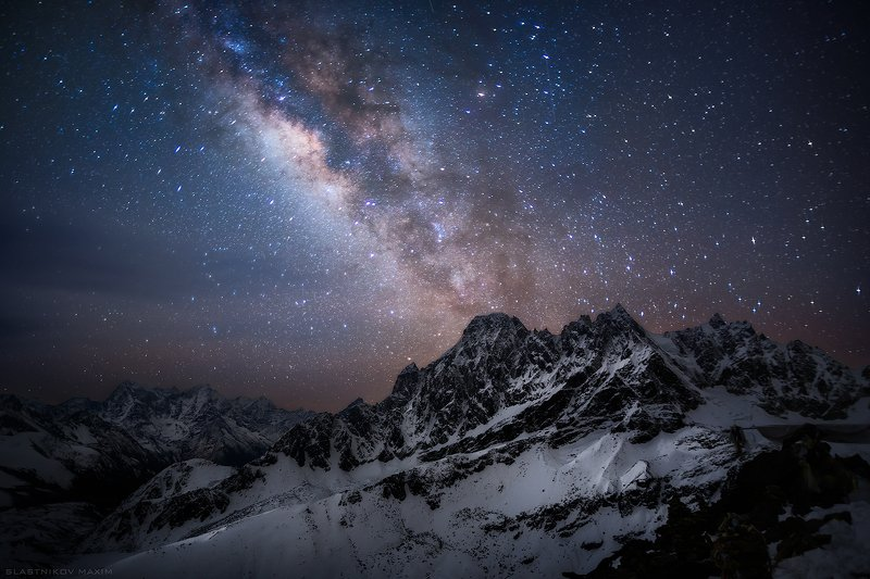 непал, гокио, гималаи, снег, вершина, звезды, тишина, галактика, ночь, тьма, высота, путешествия, первал, nepal, gokyo, travel, sky, trekking, travel, night, nightphotography, explore, sky, stars, galaxy   Открытый космосphoto preview