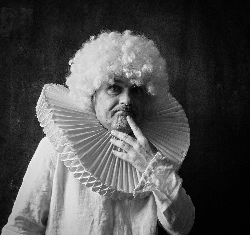 портрет, постановочная фотография, модель, фешн, евгений корниенко Таки здрасте (автопортрет)photo preview