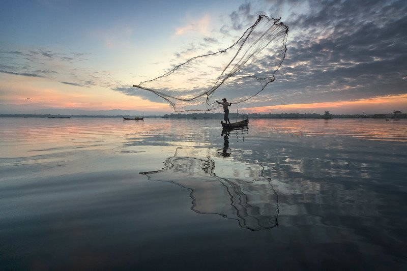 amarapura, asia, asian, balance, birma, blue, boat, burma, burmese, catch, countryside, culture, dawn, early, fish, fisherman, fishing, freshwater, kayak, labor, lake, landscape, life, man, mandalay, morning, myanmar, nature, net, outdoor, paddle, reflect The Gathering - Airphoto preview