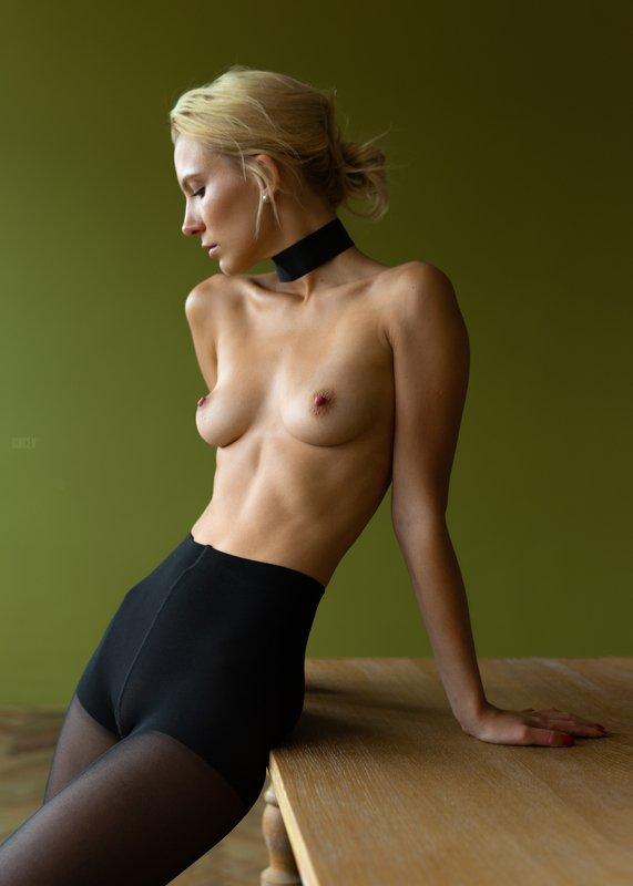 фотомодель, портрет, чб, девушка, красивая, взгляд, woman, beautifull, portrait, canon6d, toples, nude, sexy Стефаниphoto preview