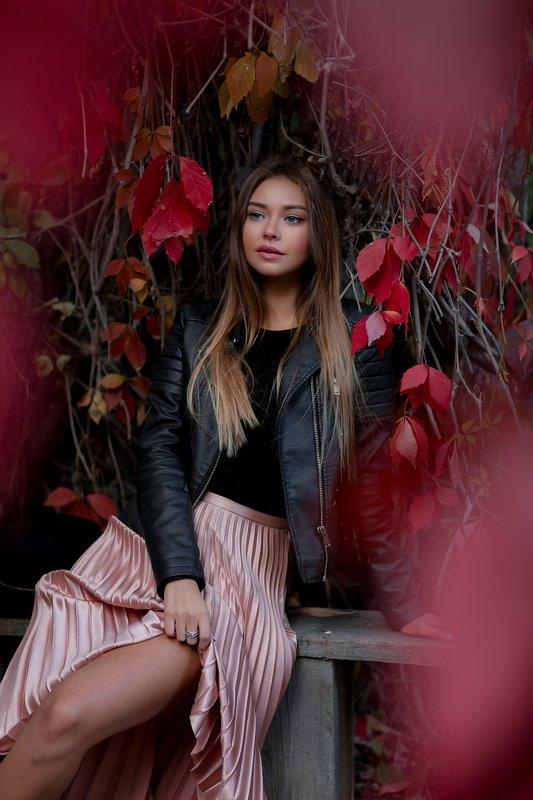 портрет красота девушка арт Полинаphoto preview