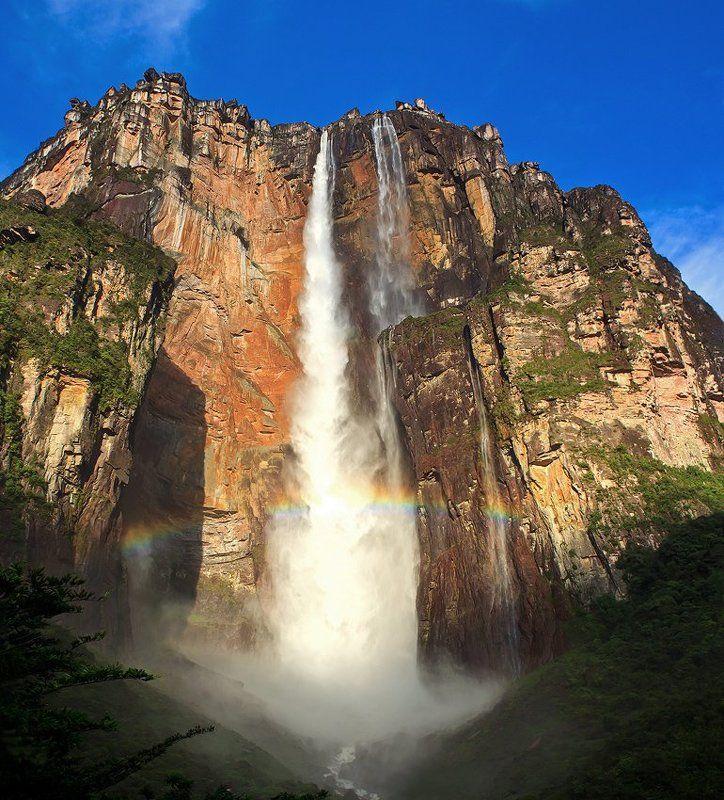 венесуэла, канайма, анхель, водопады Водопады Канаймыphoto preview
