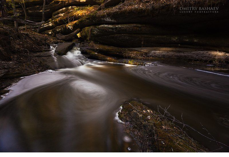 южный урал, р. каменная, россия Водопадик на Каменнойphoto preview