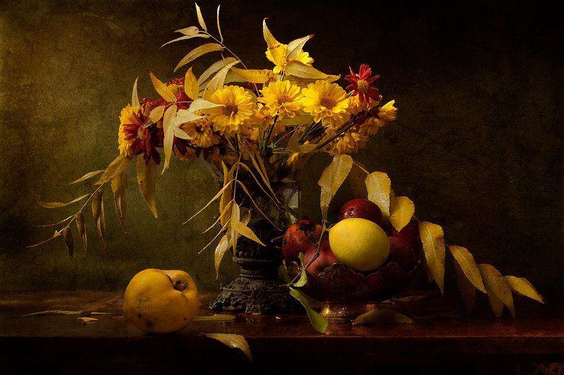 С айвой, лимоном и яблокамиphoto preview