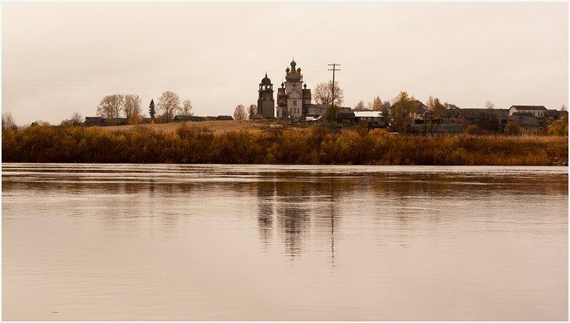 Вид на Преображенский храм д.. Турчасово.photo preview