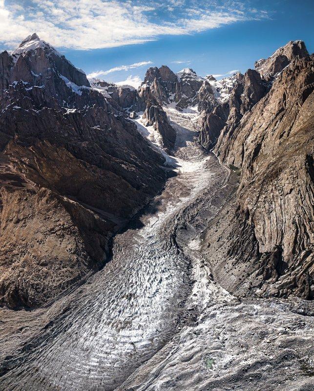 ледник, Пакистан, Каракорум,  Karakorum flyphoto preview