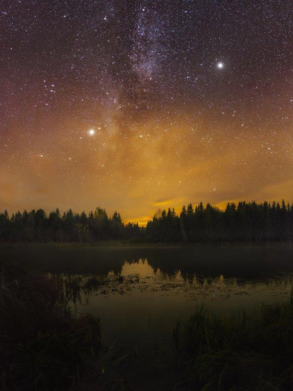 пермский край, ночь, звёзды, млечный путь, осень ***photo preview