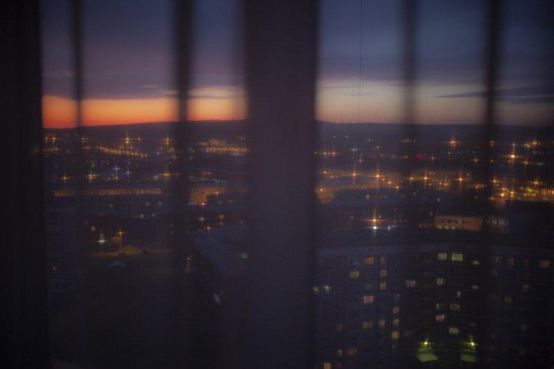 ночь город  Город засыпает....photo preview