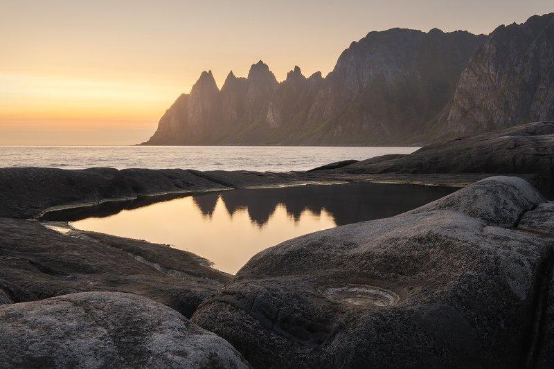 Норвегия, Сенья, зубы дракона, приливные ванны, Скандинавские горы \
