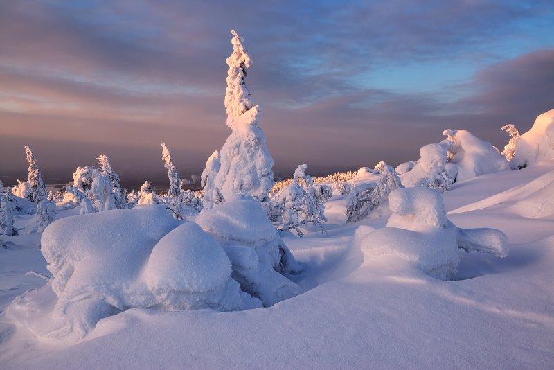 Зима в Кандалакше фото превью