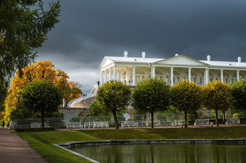 пейзаж, landscape, осень, autumn, пушкин, царское село Осень в Царском Селеphoto preview