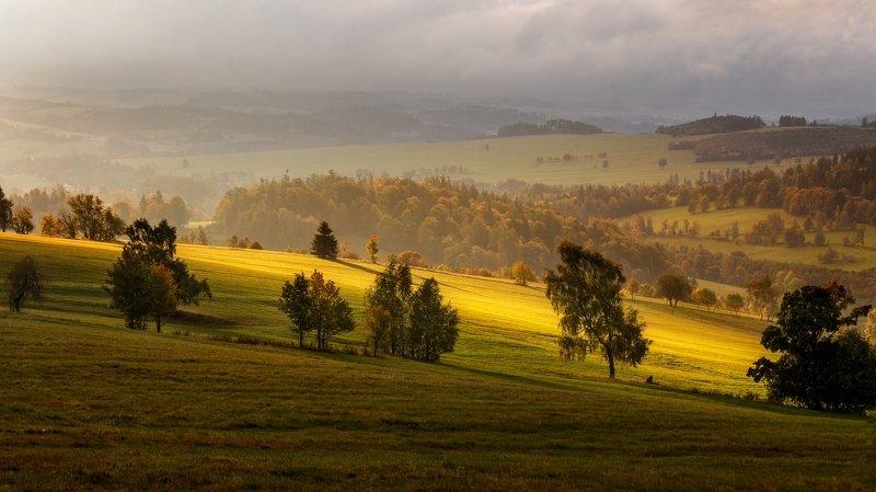landscape, tree, sunset Novoveský vrchphoto preview