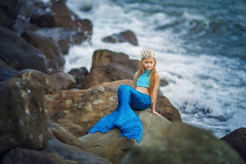 #girl, #portrait, #beauty, #lady, #135mm, #pretty Mermaidphoto preview