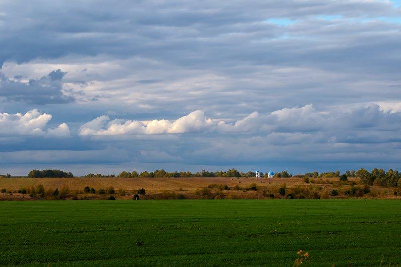 пейзаж, небо Между землей и небомphoto preview