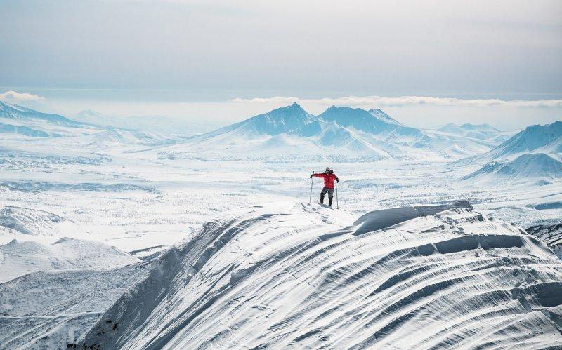 камчатка, тумрок, зима, горы На хребте Тумрокphoto preview