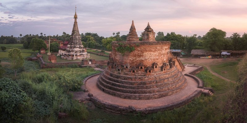 ancient, archeological, architecture, asia, asian, ava, brick, buddha, buddhism, building, burma, burmese, carving, city, column, complex, culture, evening, green, historic, history, house, inwa, jungle, landmark, landscape, mandalay, medieval, mo, myanma The Old Waysphoto preview