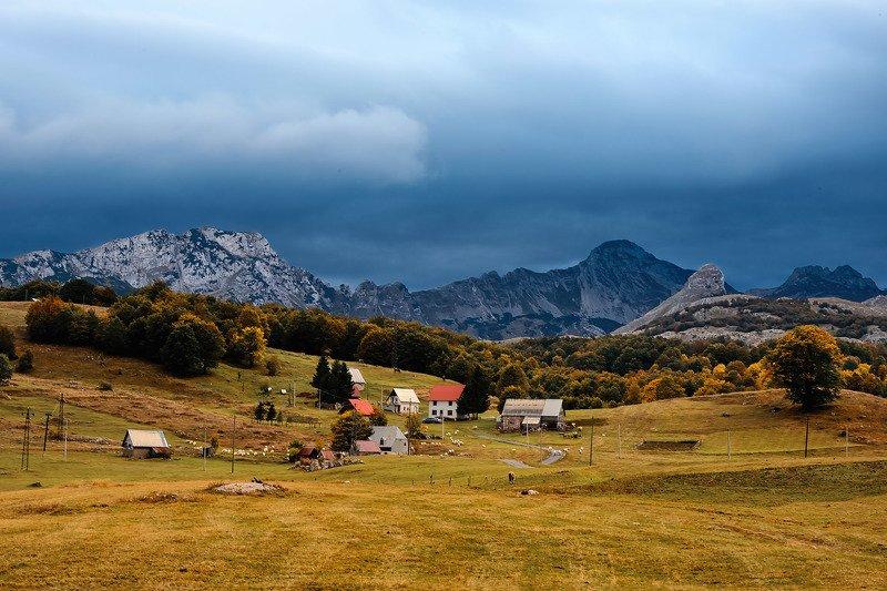 черногория montenegro Autumn in Montenegrophoto preview