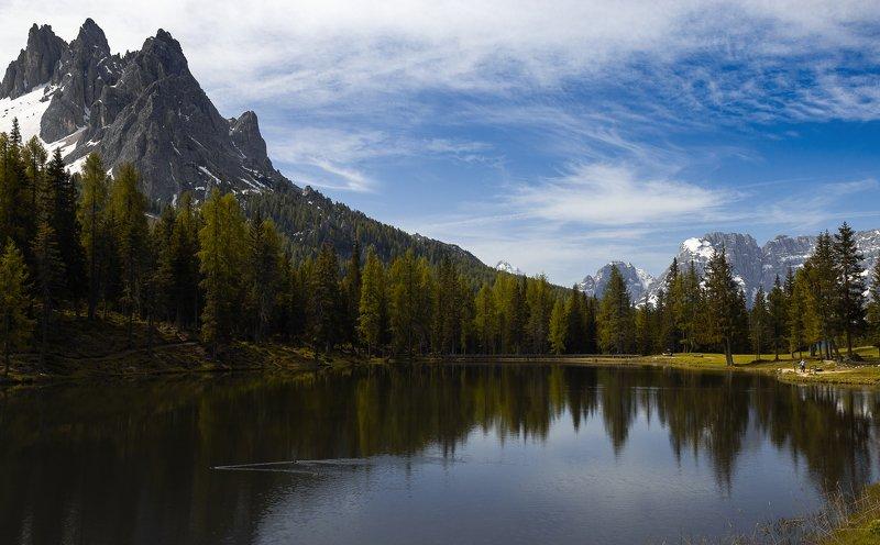 Lago Antorno. Dolomitiphoto preview