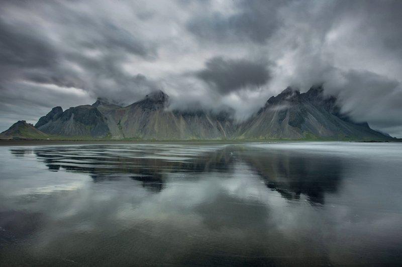исландия,iceland,stokksnes лоскутный  Stokksnesphoto preview