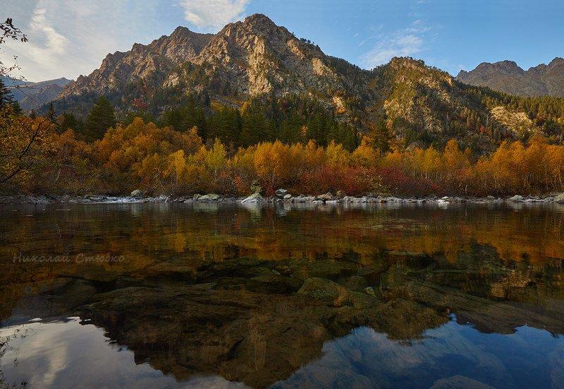 кавказ горы осень озеро Осенние этюды. №4photo preview