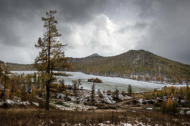 горный алтай На перевалах выпал снегphoto preview
