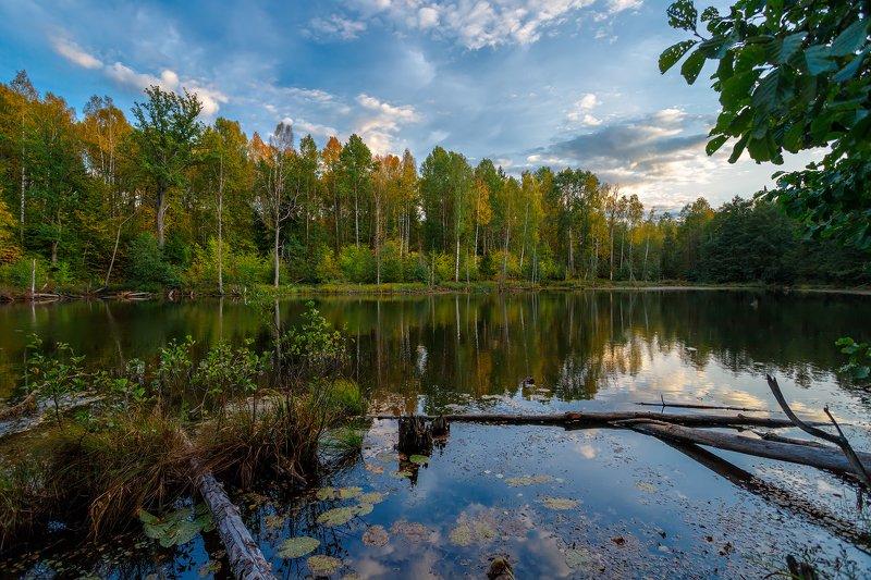 озеро, пейзаж Ширяев оврагphoto preview
