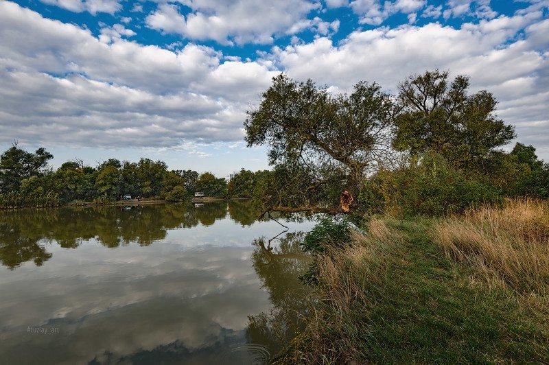 кубань, сентябрь, река, кубанский берег, таманский полуостров, темрюк Утро выходного дняphoto preview