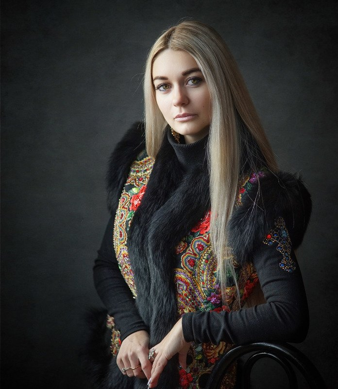 девушка, портрет Светланаphoto preview