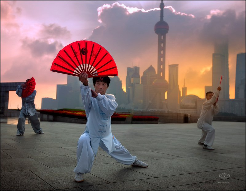 китай, шанхай, репортаж, люди Утро в Шанхаеphoto preview