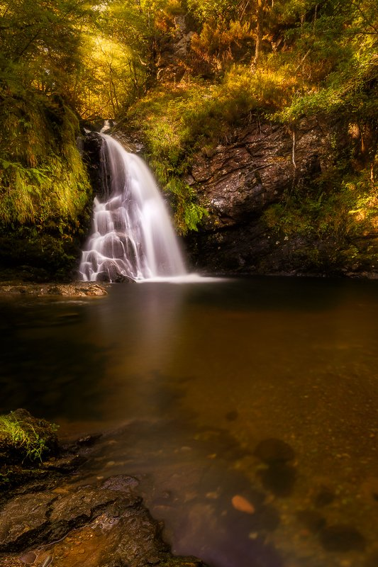 sunrise, sunset, longexposure, long exposure, waterfall Tourmakeady Waterfallphoto preview