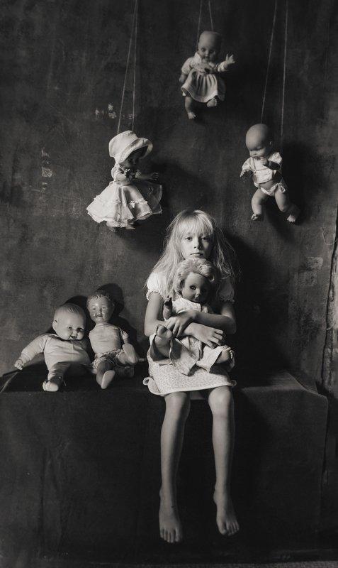 портрет, постановочная фотография, модель, фешн, евгений корниенко дети и куклы 3photo preview