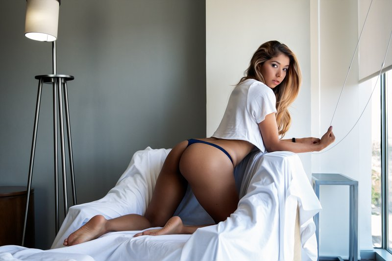 sexy, latín, lingerie, fitness, portrait, model Astridphoto preview