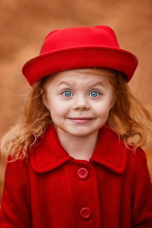детский портрет, детская фотографий,  красавица, осень Cашаphoto preview